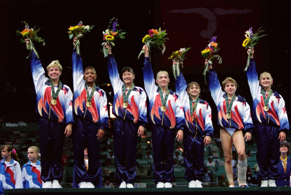 """Where Are The """"Magnificent Seven"""" U.S. Gymnasts Now, 20"""