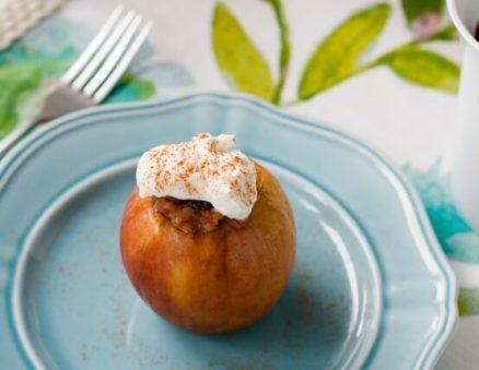 Savory Baked Breakfast Apples Recipe