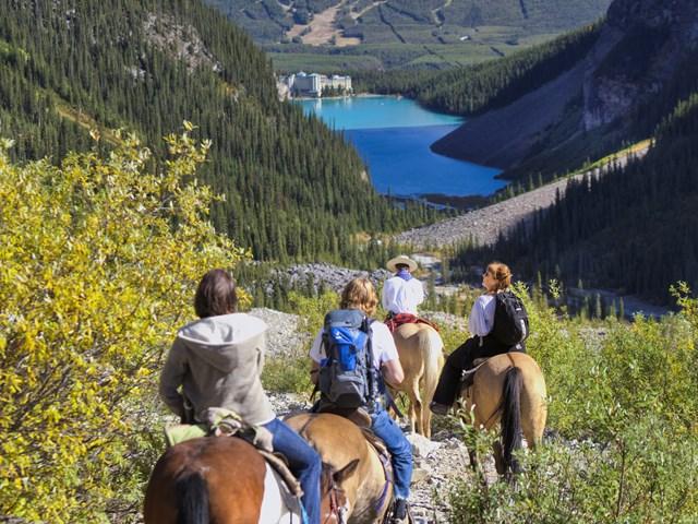 Learn To Horseback Ride In Banff National Park Alberta