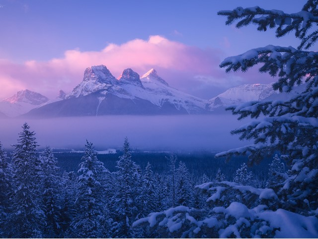 weather in banff canmore