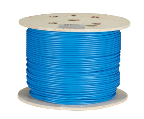 small resolution of cat6 400 mhz solid bulk cable shielded pvc blue 1000 ft spool