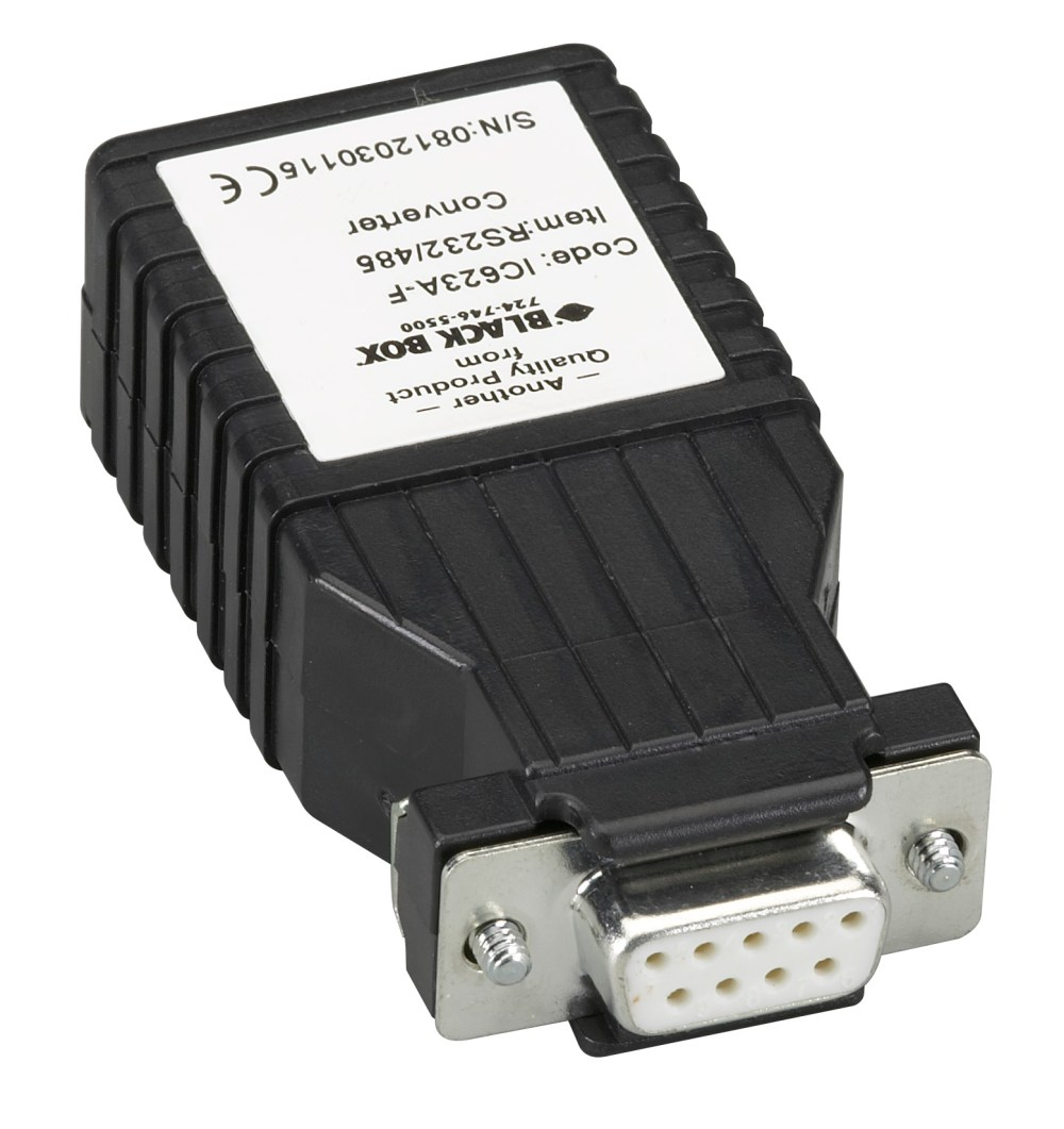 medium resolution of async rs232 to rs485 interface converter db9 to rj11