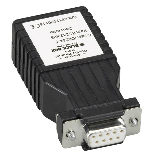 small resolution of async rs232 to rs485 interface converter db9 to rj11