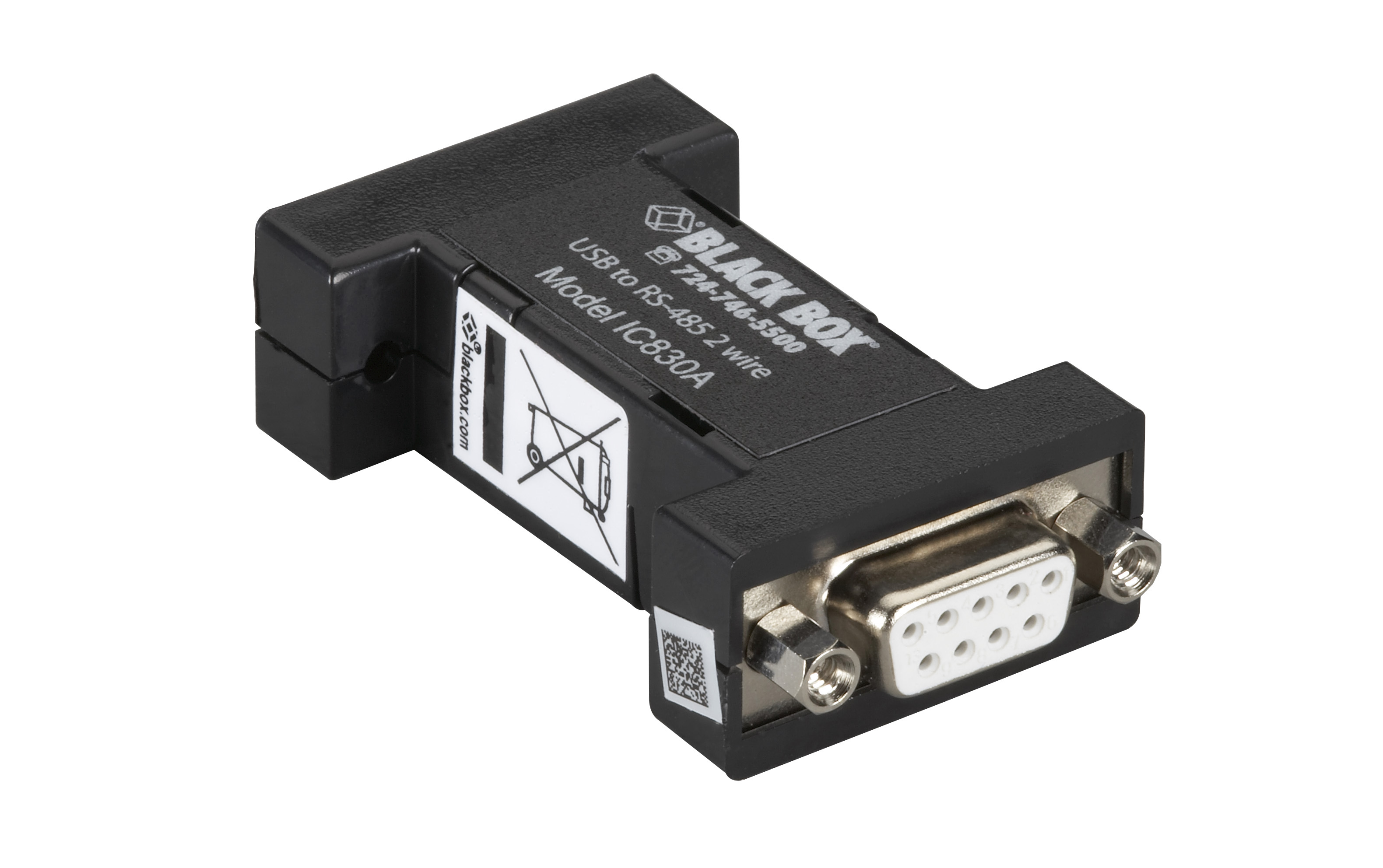 rs485 wiring travel trailer v front usb 2 2wire mini converter db9 black box