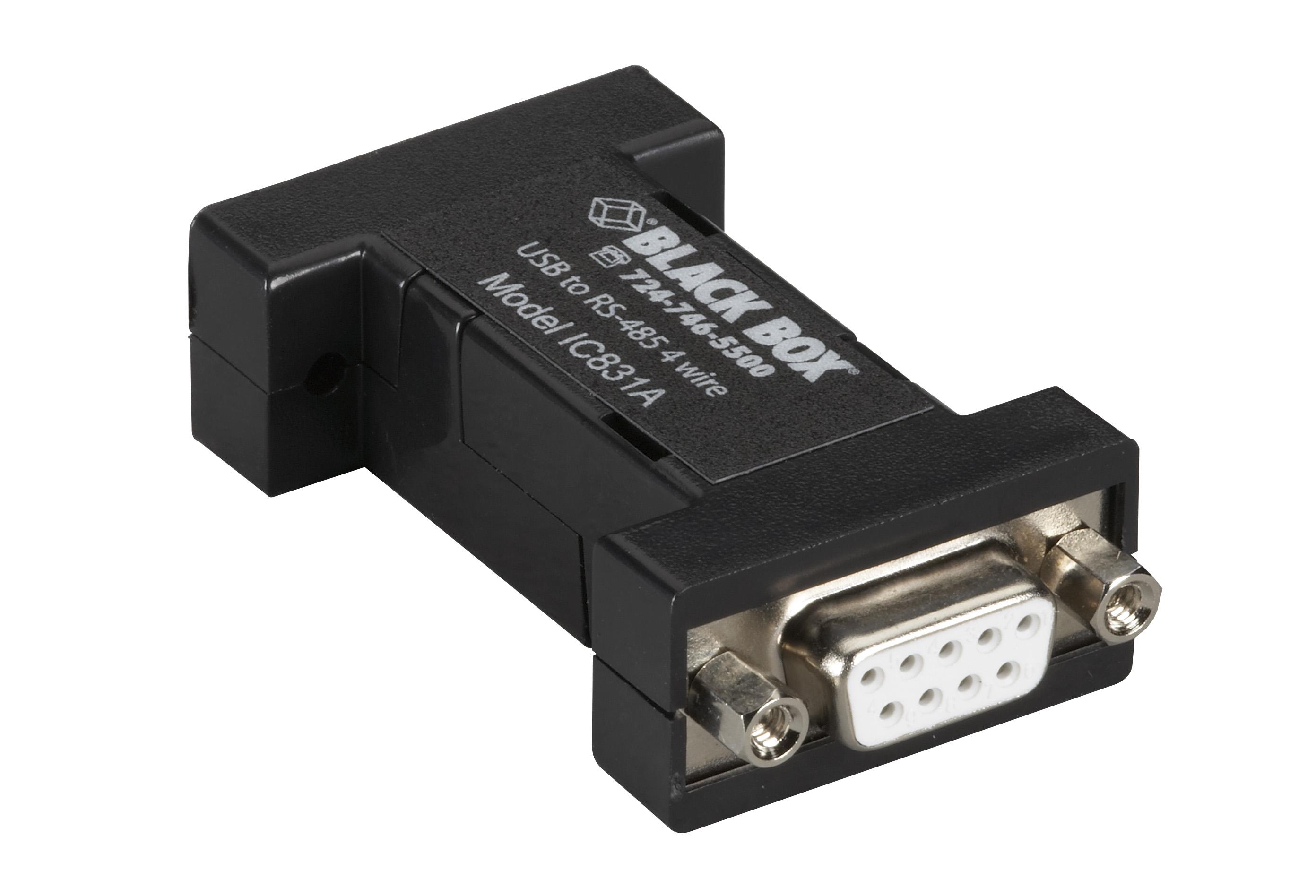 rs485 wiring crabtree 2 way light switch diagram usb to 4 wire converter db9 1 port black box
