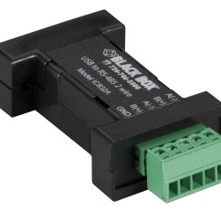 Rs485 Wiring 2005 Ford Explorer Xlt Stereo Diagram Usb 2 To Wire Converter Terminal Block 1 Port
