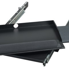 Chair Mount Keyboard Tray Canada Small Garden Table And 2 Chairs 2u Sliding Pivoting 19 Quot Rackmount Mouse 9