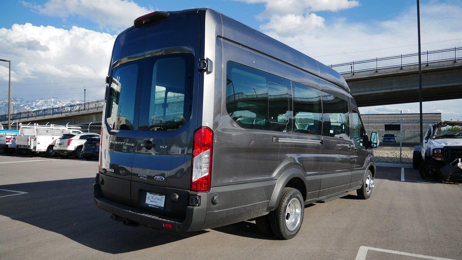medium resolution of  2019 transit 350 hd high roof drw 4x2 passenger wagon 69142 photo