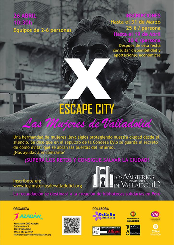 Cartel Los Misterios de Valladolid 2020