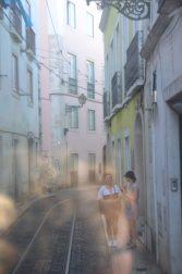 Rue de Lisbonne vue du Tram