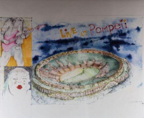 Live in Pompei... un concert tout feu tout flammes !