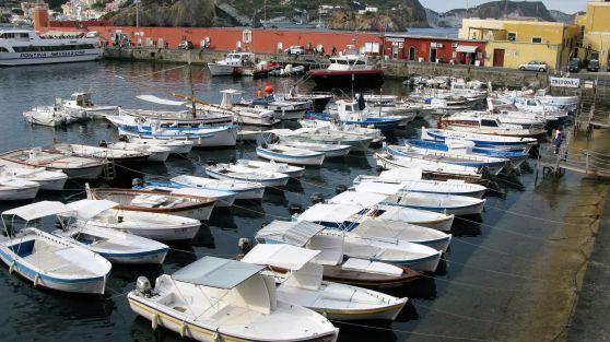 Barques à Ponza