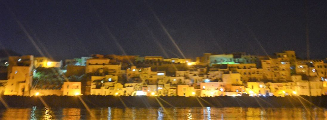 Procida by night