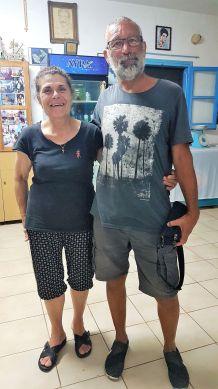 Avec Maria en son auberge de Vathy