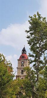 La tour de l'horloge (Rhodes)