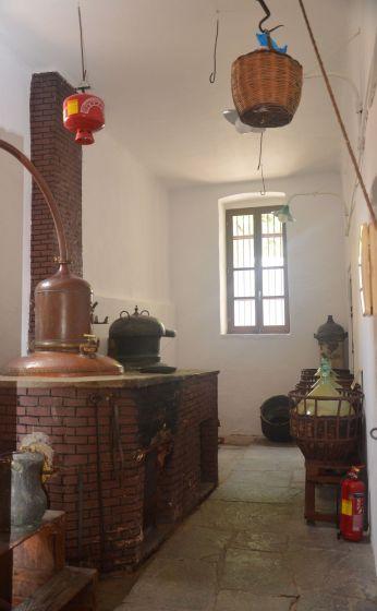 Halki, distillerie de Vallindras
