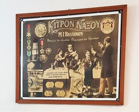 Le Kitron de Naxos. Distillerie de Vallindras (Halki)