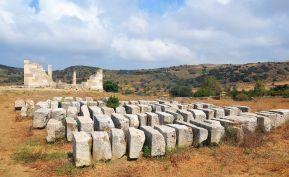 Puzzle grec (temple de Déméter, Naxos)