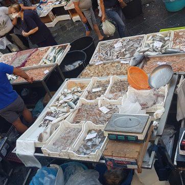 Marché aux poissons - Catane Sicile 2020