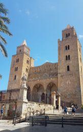 Céfalu - la cathédrale normande. Sicile - 2020