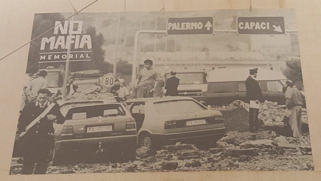 Assassinat du juge Giovanni Falcone. Sicile - Palerme