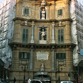 Quattro Canti, façade Nord-Est Sicile - Palerme
