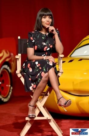 """at the """"Cars 3"""" Press Conference at Anaheim Convention Center on June 10, 2017 in Anaheim, California."""