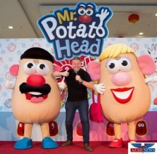 Mr &Mrs PotatoHeadShow at Dalma Mall