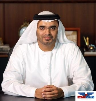 Portrait of Chairman of the Board, Majid Al Ghurair at the Dubai Chamber of commerce, Dubai, Uae, Tuesday, July 7, 2015. Photo by Tina Hager