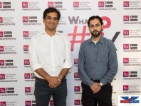 Bilal Bajwa Olx Pakistan Country Head and Taimur Dubizzle, from left to right