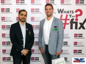 Arslan Ali (Co-Founder Fixonclick) and Kevin Czok ( Managing Partner at Hotel Data Cloud)