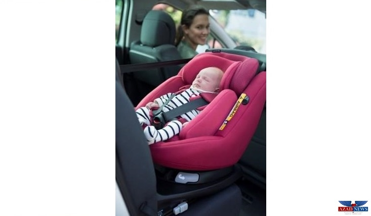 UAE\'s First Airbag Child Car Seat – Cooperation RoadSafetyUAE and ...