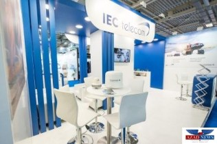 IECTelecom and Thuraya stand at Posidonia