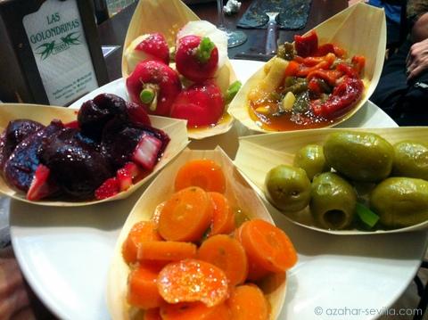 golondrinas mixed veg