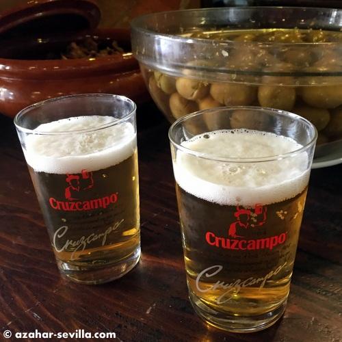 antigua abaceria cerveza