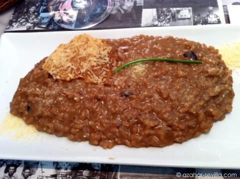 casa catalina jamon foie risotto