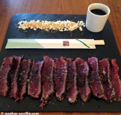 petit beef tataky