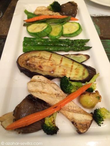 sahumo grilled veg