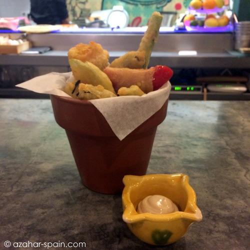 la candela veggie tempura