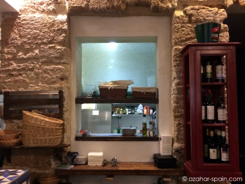 vineria negro kitchen