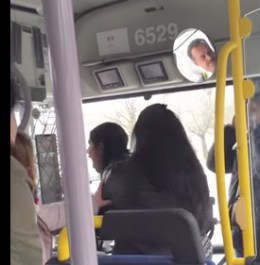صرخة غضب عريضة على سائق الباص