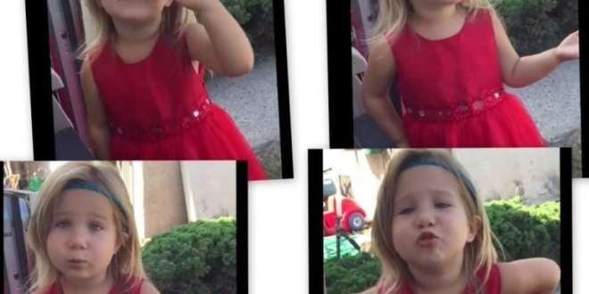 طفلة تشرح لوالدها يوم الزفاف