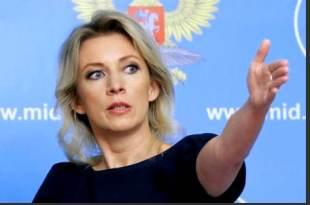 المتحدثة باسم وزارة الخارجية الروسية