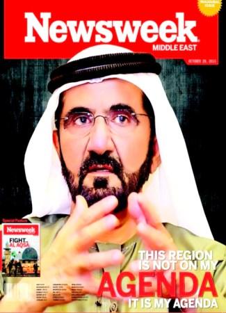 محمد بن راشد، نيوزويك، الإمارات، حاكم دبي 495x685.bmp
