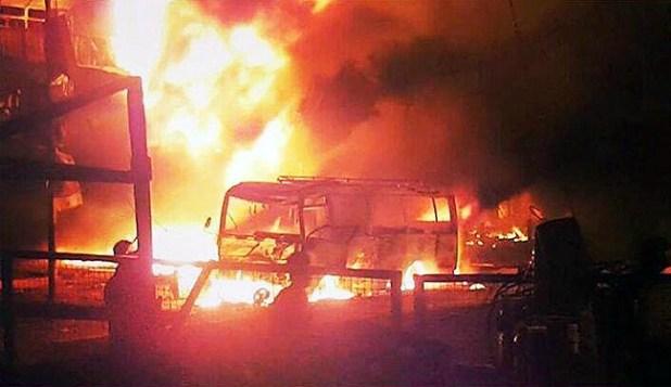 انفجاران بمنطقتي الكرادة والشعب وسط وشمال بغداد