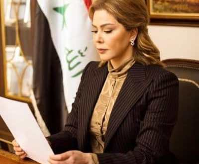 لقاء العربية مع رغد صدام حسين
