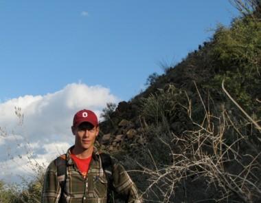 Matt Pailes at Cerro Prieto