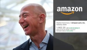 amazon stock price rallies