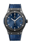 Hublot Classic Fusion Ceramic Blue 42mm Mens Watch 542.CM.7170.LR
