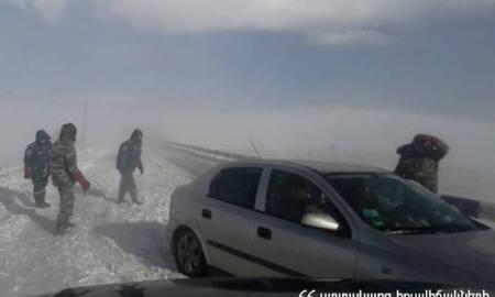 ԱԻՆ-ը հորդորում է Գորիս-Երևան և Սիսիան-Գորիս ավտոճանապարհներով չերթևեկել
